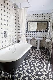 Fabulous Vinyl Black And White Flooring Floor Black And White