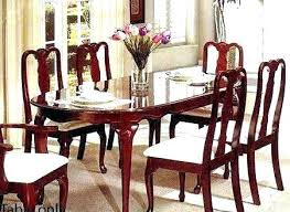 Cherry Dining Room Chairs Set Table