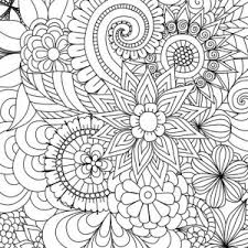 Interesting Inspiration Adult Coloring Pages Printable For Adults 15 Free Designs