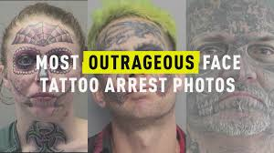 100 Semi Truck Tattoos Most Outrageous Face Tattoo Arrest Photos