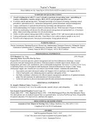 New Rn Resume Sample Grad Examples 2015