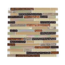 Menards Peel And Stick Mosaic Tile by Kitchen White Mosaic Smart Tiles Home Depot For Kitchen