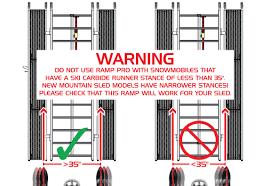 100 Snowmobile Ramps For Trucks Caliber Trailer Ramp Pro