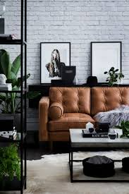 Living Rooms With Brown Couches by Best 25 Tan Leather Sofas Ideas On Pinterest Tan Leather