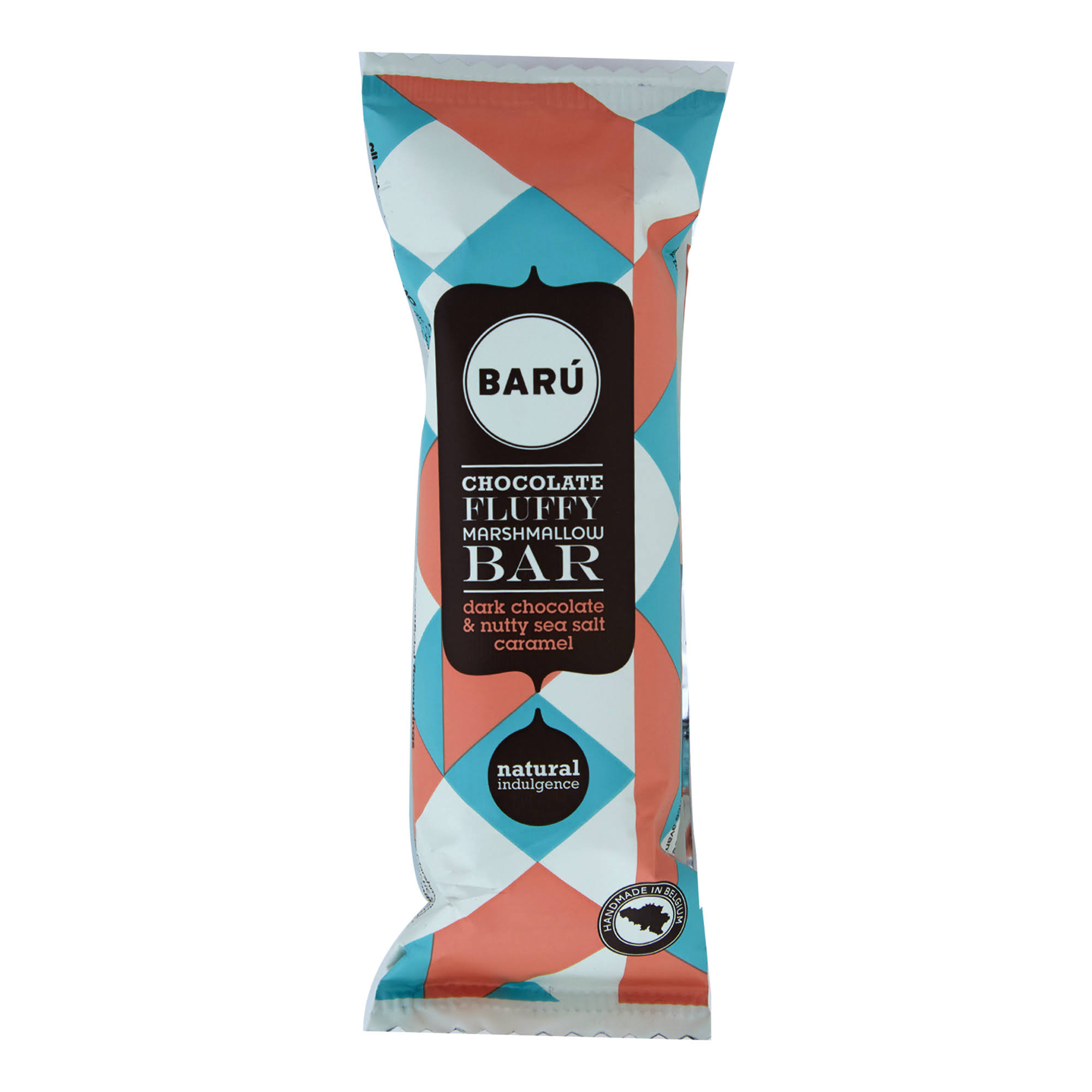 Marshmallow Bar Dark Chocolate with Nutty Sea Salt Caramel 30 G (Pack of 6) by Bar