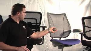 Hyken Mesh Chair Manual by Office Furniture Outlet Mesh Chairs Youtube