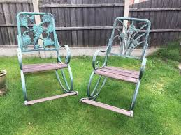 Antique Ornate Cast Iron Rocking Chairs | In Worsbrough, South Yorkshire |  Gumtree Agha Rocking Chair Outdoor Interiors Magnificent Wrought Iron Chairs Vintage Garden Table Black Leather Chaise Lounge Modern Fniture Living Wood And Amazonin Home Kitchen Victorian Peacock Lawn Patio Set Best Images About On 15 Collection Of 4 French Folding Metal Teak Seat Bistro Amazoncom Bs Antique Bronze Scoll Ornate Cast In Worsbrough South Yorkshire Gumtree Surprising Bedroom House Winsome