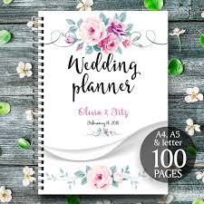 Wedding Planner Printable Floral Binder Spring Checklist To Do List