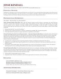 Insurance Resume Profile Examples Plus Personal Banker Sample Small Business For