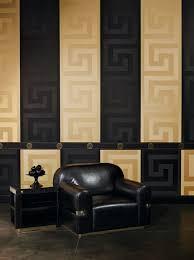 versace designer barock vliestapete 935224 schwarz gold bordüre design tapete luxus qualität