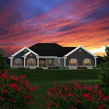 Ranch Style House Plan Number 96152 With 3 Bed 3 Bath 2 Car Garage