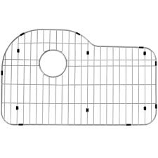 Kohler Hartland Sink Rack White by Kohler Hartland 13 1 8 In X 16 7 8 In Stainless Steel Left Hand