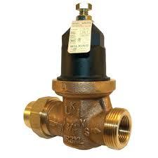 Zurn Wilkins 1 in No Lead Brass Water Pressure Reducing Valve 1