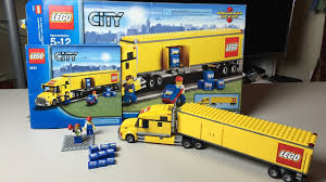 100 Lego Semi Truck City Speed Build And Review Set 3221 YouTube