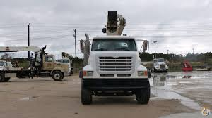 Sold USED TEREX RS60100 BOOM TRUCK Crane For In Houston Texas On ...