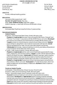Resume Template Umd With Examples