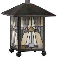 Quoizel Tiffany Lamp Shades by Quoizel Tfik6111va Table Lamp Tiffany Valiant Bronze
