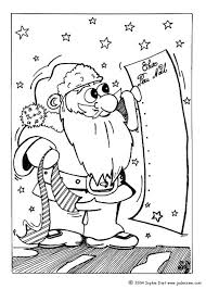 Christmas Gifts List Coloring Page