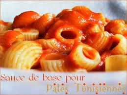 pate a la tunisienne sauce de base pour pâtes tunisiennes délices de tunisie