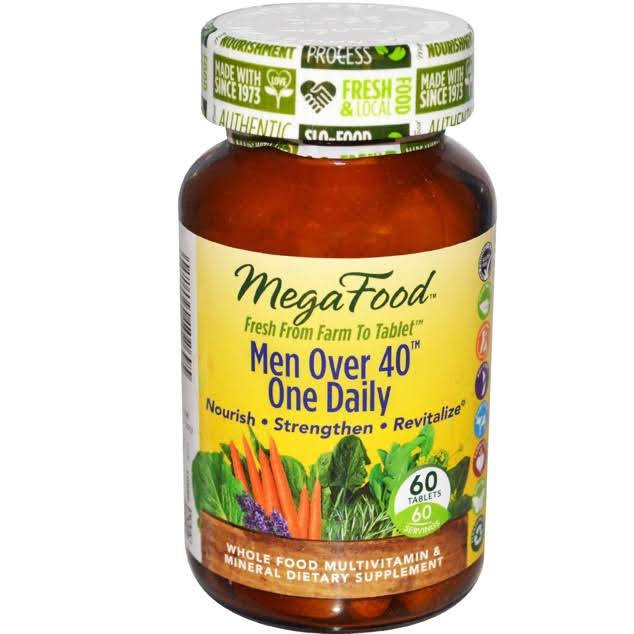 Megafood Men Over 40 One Daily Multivitamin and Mineral Supplement - 60ct