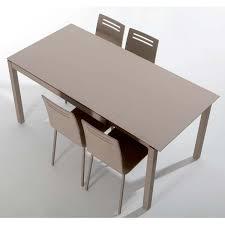 table rectangulaire de cuisine table de cuisine en céramique avec allonge celeste