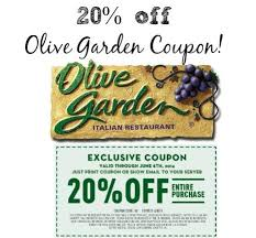 Coupons Olive Garden Home Design Ideas and