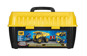 Amazon.com: Toy State Caterpillar CAT Apprentice Ultimate Machine ...