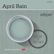 Color Of The Day April Rain By Valspar Spare Bathroom And