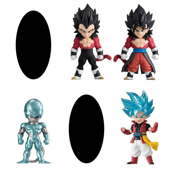 (Candy Toy Goods Only) Super Dragon Ball Heroes Adverge 2 1Box = 10 All 6 Types
