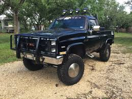 1985 GMC Sierra K1500 Lifted Pick Up For Sale 1985 Gmc K15 Shortbed Cummins Cversion Diesel Power Magazine Car Shipping Rates Services S15 Used Brigadier For Sale 1772 Review1985 Sierra K20 K1500 Classicbody Off Restorationnew Brochure 2500 Information And Photos Momentcar T15 Pickup 4wd Insurance Estimate Greatflorida 5gmcerraclassicrustfreewitha1987chevy305homildcam C1500 Pickup Truck Item 7320 Sold July Snow Removal Truck For Sale Seely Lake Mt John Classic 1500 I8488 Sol Sale1985 W383 Stroker 6000 Cars Trucks