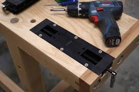 woodworking vice installation the veritas inset