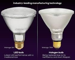 torchstar dimmable par30 led light bulb 11w 75w equivalent