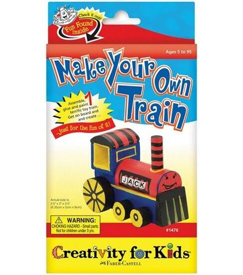 Creativity For Kids Mini Kit Make Your Own Train