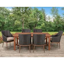 Berkley Jensen Colleyville 7-Pc. Dining Set - BJs WholeSale Club Klaussner Outdoor Delray 7piece Ding Set Hudsons Breeze Ding Chair Alinum Frame Harbour Suncrown Brown Wicker Fniture 5piece Square Modern Patio To Enjoy Lovely Warm Summer Awesome Patio Quay Chair By King Living Est Living Design Directory Room Charming Image Of For Hampton Bay Belcourt Metal With Walmartcom Bilbao Five Piece Falster Ikea I Love The Looks Of This Outdoor Ding Set Table 10 Easy Pieces Chairs In Pastel Colors Gardenista
