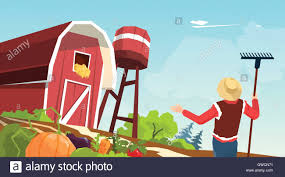 Farmer Working On Farm Barn Vector Illustration Stock Vector Art ... Pottery Barn Wdvectorlogo Vector Art Graphics Freevectorcom Clipart Of A Farm Globe With Windmill Farmer And Red Front View Download Free Stock Drawn Barn Vector Pencil In Color Drawn Building Icon Illustration Keath369 Stock Image Building 1452968 Royalty Vecrstock Top Theme Illustration Cartoon Cdr Monochrome Silhouette Circle Decorative Olive Branch 160388570 Shutterstock