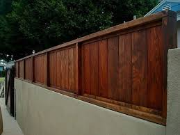 borg fence and decks torrance ca after 2 redwood wall extension yelp fences screens