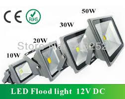2x30w led flood light 12vdc waterproof ip65 warm 3000k white
