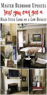master bedroom mantel update and more ad athomefinds www