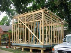 12x16 shed plans slanted roof sheds out buildings porches