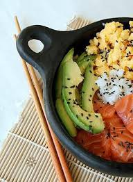cuisine japonaise recette de cuisine japonaise chirashi ou chirachi au saumon