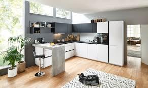 nolte grifflose feel softmatt lack grifflos l form küche