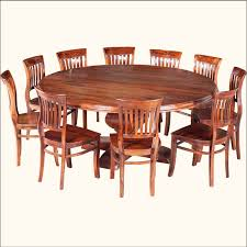Dining Tables Astonishing Brown Round Rustic Wooden 8 Person Table Stained Design Antique