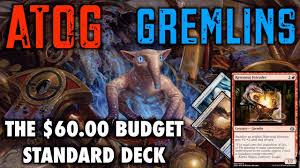 mtg atog gremlins the 60 budget standard deck for magic the