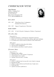 Resume Examples For A Job Sample Description Call Center