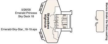 Star Princess Baja Deck Plan by Emerald Princess Cruises U0026 Deals 2017 2018 Thomas Cook