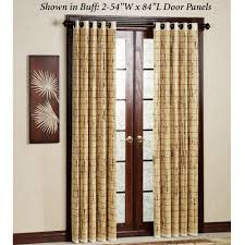 Natural Bamboo Beaded Door Curtain by Decorating Curtain Ideas Licious Door Panel Curtain Ideas And
