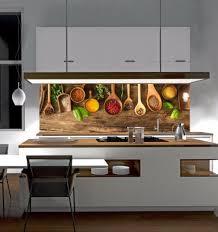 komplett küchen ausstattung küchenrückwand gewürze kräuter