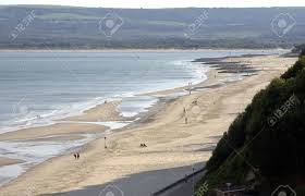 100 Canford Cliffs Long Sandy Beach At On Englands South Coast