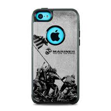 OtterBox muter iPhone 5c Case Skin Flag Raise by US Marine