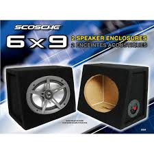 100 Best Truck Speakers SCOSCHE SE69RCC 6 X 9 Speaker Enclosure Pair Walmartcom